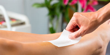 Waxing services for men and women